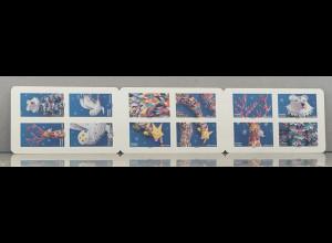 Frankreich France 2019 MH 7477-88 Fantasie Papierskulpturen von Lila Poppins