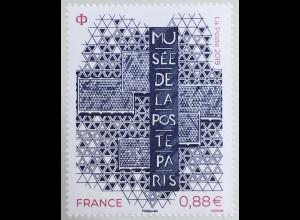 Frankreich France 2019 Nr. 7489 Wiedereröffnung des Postmuseums Paris