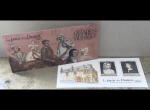 Frankreich France 2019 Neuheit Historienausgabe La Paixe des Dames im Jahre 1529