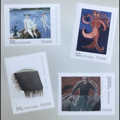 Island Iceland 2019 Neuheit Visuelle Kunst Fantasievolle moderne Kunstausgabe
