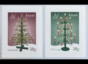 Island Iceland 2019 Neuheit Weihnachten Christmas Natale Weihnachtsbaum