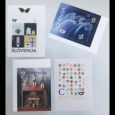 Slowenien Slovenia 2019 Neuheit Weihnachten Neujahr aus Markenheft