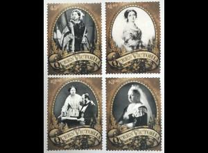 Tokelau Inseln 2019 Nr. 543-46 Geburtstag von Queen Victoria britische Monarchin
