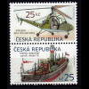 Tschechische Republik 2013, Michel Nr. 756-57 ZD **, Histor. Verkehrsmittel (I)