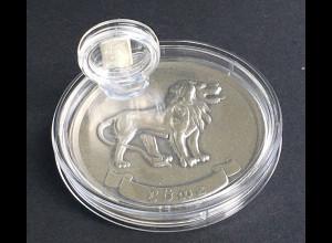 Geschenkidee für Löwen als Sternzeichen 1 g. Silberbarren zum Aufstellen