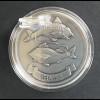 Geschenkidee für Fische als Sternzeichen 1 g. Silberbarren zum Aufstellen
