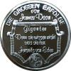James Dean Medaille in reinem Silber mit Geschenketui