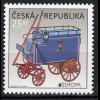 Tschechische Republik 2013, Michel Nr. 762 ** postfrisch, Europa: Postfahrzeuge