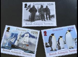 Britische Antarktis BAT 2019 Neuheit 200 Jahre Entdeckung der Antarktis