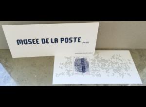 Frankreich France 2019 Block 457 Wiedereröffnung des Postmuseums, Paris