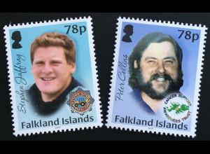 Falkland Inseln 2019 Neuheit Wohltätigkeitsorganisationen Memorial Fund