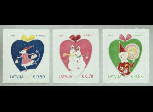 Lettland Latvia 2019 Neuheit Weihnachten Christmas Natale Weihnachtself