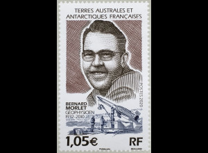 Franz. Antarktis TAAF 2020 Nr. 1068 10. Todestag von Bernard Morlet