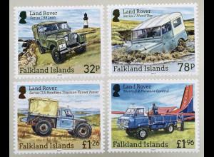 Falkland Inseln 2019 Neuheit Land Rover britischer Automobilhersteller