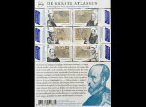 Niederlande 2020 Block 185 Die ersten Atlanten DE EERSTE ATLASSEN Joan Blaeu