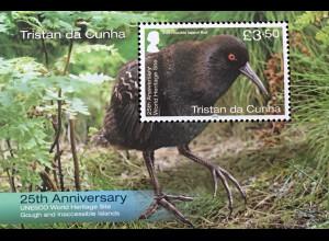 Tristan da Cunha 2020 Block 78 Beliebte Vögel des Landes Fauna Ornithologie