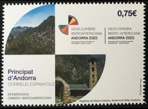 Andorra spanisch 2020 Neuheit Iberoamerikanischer Gipfel Kooperation Solidarität