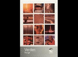 Norwegen 2020 Nr. 2017 Personalisierte Briefmarke Urlaubsmotive