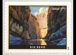 USA Amerika 2020 Nr. 5667 Schnelllpostmarke Rio Grande im Big Bend Nationalpark