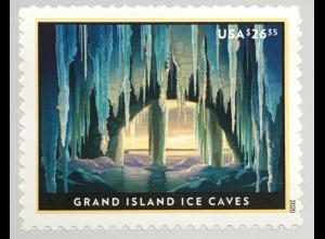 USA Amerika 2020 Nr 5668 Eilpostmarke Lake Superior Oberer See Michigan Eishöhle