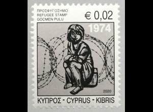 Zypern griechisch Cyprus 2020 ZZ 22 Zwangszuschlag Flüchtlingshilfe Kinder