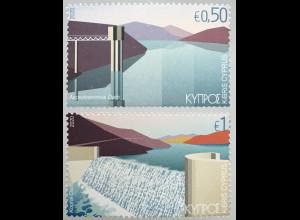 Zypern griechisch Cyprus 2020 Michel Nr. 1427-28 Wasser als Lebensspender