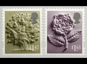 Großbritannien 2020 Regionalmarke England Neuheit Landeswahrzeichen