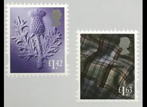 Großbritannien 2020 Neuheit Regionalmarke Schottland Neuheiten Landeswahrzeichen
