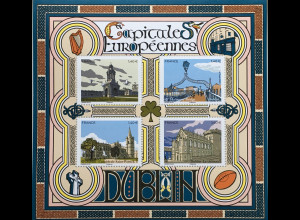 Frankreich France 2020 Block 466 Hauptstadt Dublin St. Patrick´s Cathedral Block