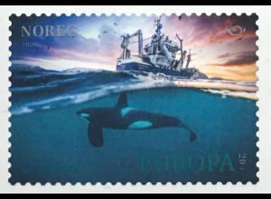 Norwegen 2020 Nr. 2021 Orca NORDEN Delfin kleiner Schwertwal Butskopf