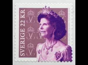 Schweden Sverige 2020 Nr.3334 Freimarke Queen Silvia Königin Ehefrau Carl XVI