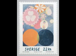 Schweden Sverige 2020 Nr. 3330 Hilma af Klint Künstlerin abstrakte Malerei