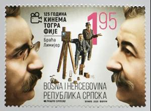 Bosnien Herzegowina Serbische Republik 2020 Neuheit Kinematographie Filmkunst