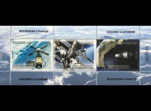Makedonien Macedonia 2020 Neuheit Weltraumstationen Raumflugkörper Wissenschaft