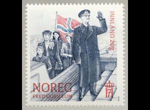 Norwegen 2020 Nr. 2023 Feier 8. Mai 75 Jahre Frieden und Befreiung vom Krieg