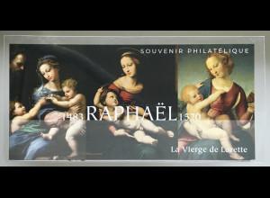 Frankreich France 2020 Block 469 Raphael La Vierge de Lorette Madonna von Loreto