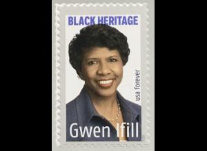 USA Amerika 2020 Nr. 5670 Schwarzamerikanisches Erbe: Gwen Ifill Journalistin