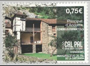 Andorra spanisch 2020 Nr. 495 Cal Pal de La Cortinada Tourismus Architektur
