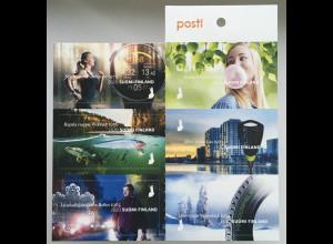 Finnland Finland 2020 Nr. 2697-2702 Markenheft Made in Finnland Erfindungen
