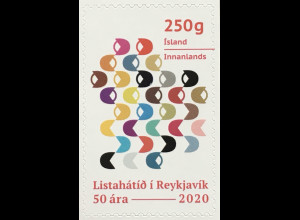Island Iceland 2020 Nr. 1603 Art Festival Moderne Kunst Handwerk Wettbewerb