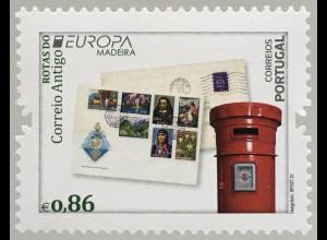 Madeira 2020 Nr. 402 Europaausgabe Historische Postwege Postrouten Postbote