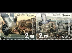 Bosnien Herzegowina Neuheit Europaausgabe Historische Postwege Postrouten