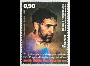 Bosnien Herzegowina Neuheit 75. Geburtstag von M. Maglaijic Berühmte Personen