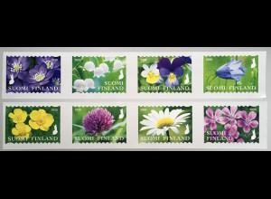 Finnland 2020 Nr. 2703-10 Inter. Jahr der Pflanzengesundheit: Wildblumen
