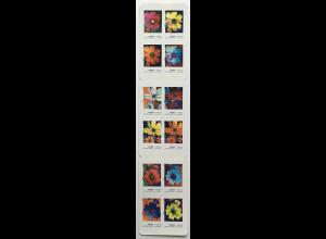Frankreich France 2020 MH Nr. 7583-94 Die Farben der Kosmeen