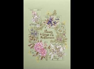 Frankreich France 2020 Block 472 Flora – Blumen aus Grasse zur Parfümherstellung