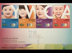 Hongkong 2020 Neuheit 100 Jahre christliche Frauenorganisation Block