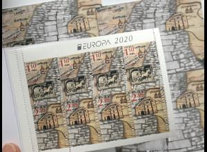Bulgarien 2020 MH 20 Europaausgabe Historische Postwege Postbeförderung aus MH