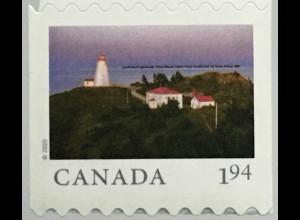 Kanada Canada 2020 Neuheit Ansichten Leuchtturmmotiv aus Markenheft