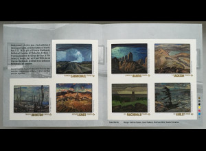 Kanada Canada 2020 Neuheit Group of Seven Landschaftsmaler Gemälde Kunst Jackson